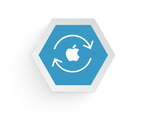 cross media IT Apple Integration Icon